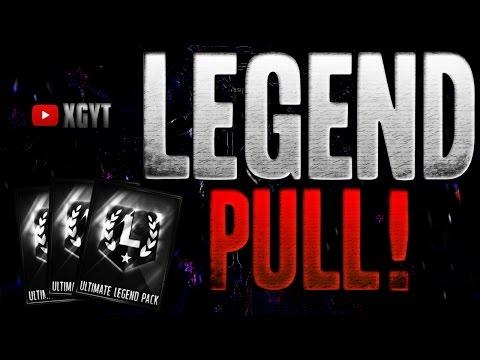 PULLED A LEGEND!! 10X ULTIMATE LEGEND PACKS - Madden Mobile 16
