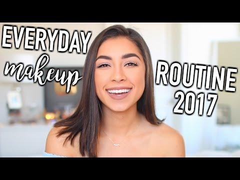 Everyday Makeup Routine 2017 | Jeanine Amapola