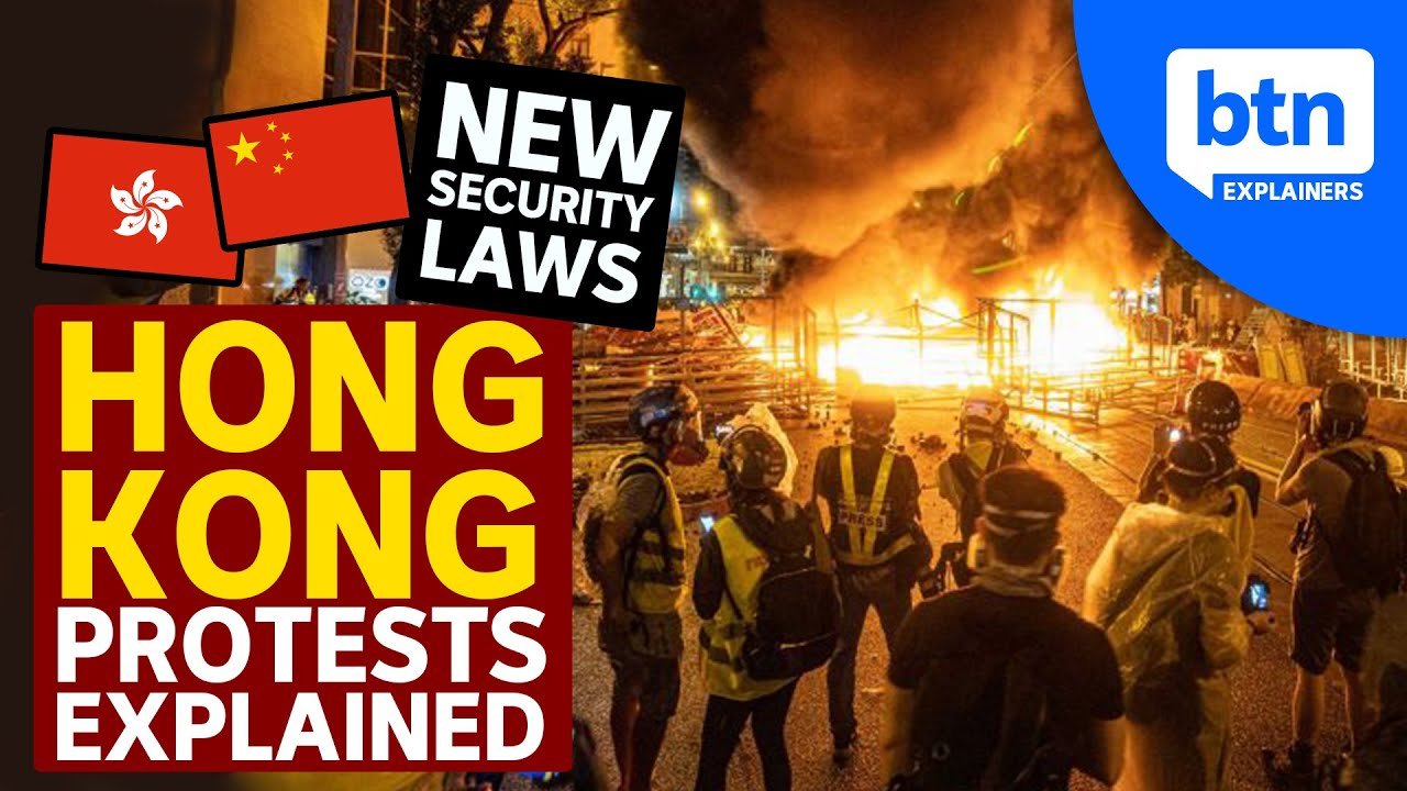 Hong Kong Protests & China's National Security Laws Explained