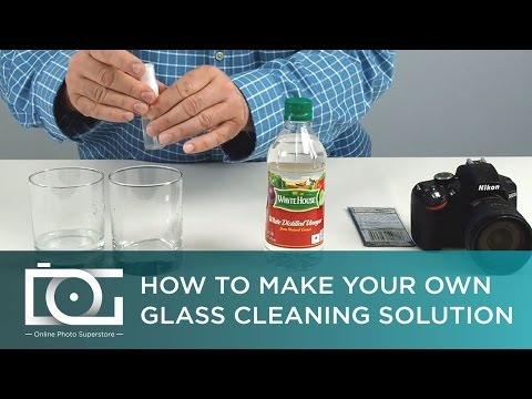 DIY Green Homemade Cleaner For Electronics, Glasses, LED, LCD, Plasma Screens, DSLR Cameras & Others