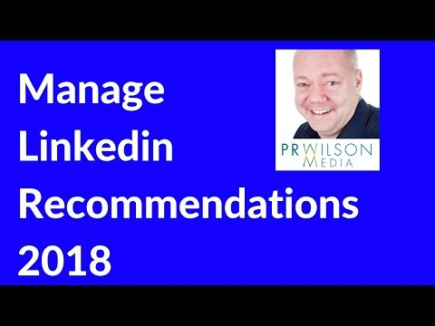 Linkedin recommendations 2018