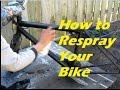 DIY Bike Re-Painting(Read Description)