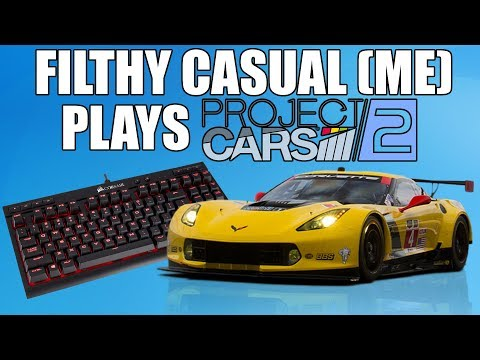 Playing Project Cars 2 With A Keyboard!