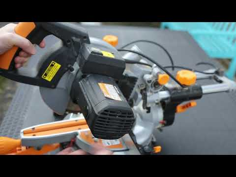 Mitre/Chop Electric Circular Saw Stops Working/Intermittent - Carbon Brushes replacement