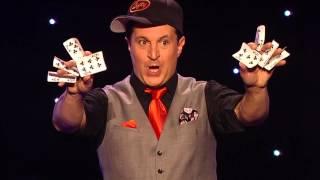 Masters of Illusion Footage - Lefty: Card Manipulation