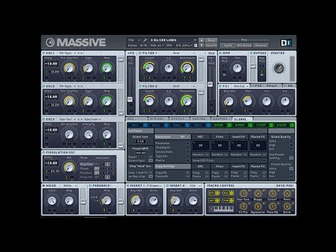 NI Massive tutorial - How To Design a Huge Swell Synth for Dubstep & Progressive