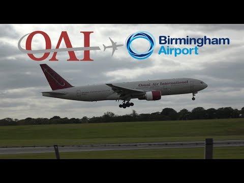 Omni Air International Flight 971/458 (Malaga to BHX/BHX to Lanzarote)
