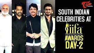 South Indian Celebs At IIFA Awards Day 2 |  IIFA Awards 2017