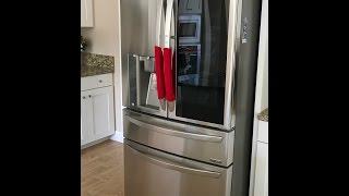 2017 LG Instaview French Door.. Door In Door Refrigerator Unboxing LMXS30796S