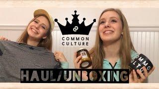 Common Culture Haul/Unboxing | Katie Brophy