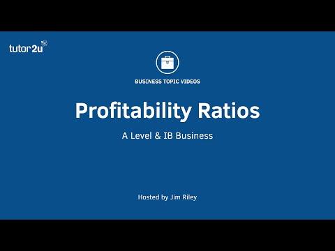 Ratio Analysis - Profitability