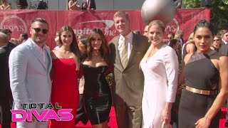 John Cena, The Bella Twins and their family walk the ESPYs red carpet: Total Divas, Jan. 18, 2017