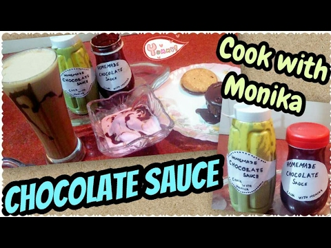 Chocolate Sauce Recipe _ Easy Homemade Chocolate Sauce _ Cook With Monika