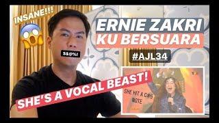 Ku Bersuara - Ernie Zakri   #AJL34   REACTION