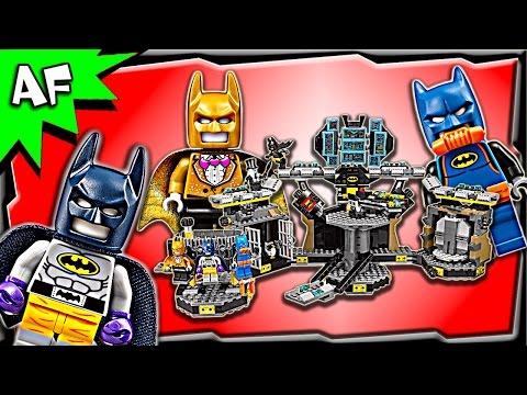 Lego Batman Movie BATCAVE Break-in 70909 Speed Build