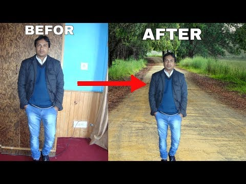 How to Change Photo Background   PicsArt Photo Editing Tutorial  