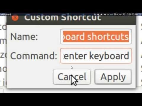 Ubuntu Basics SORTED KEYBOARD SHORTCUTS