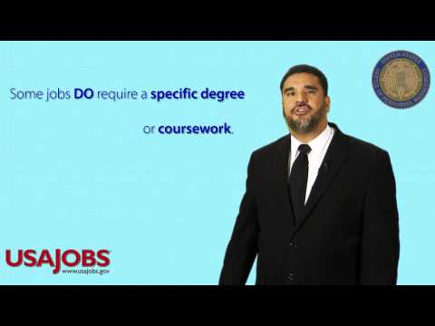 Do You Need A Degree for a Federal Job?