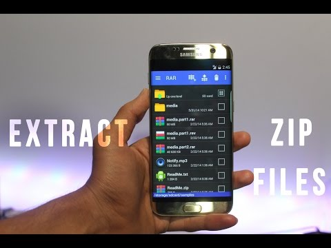 How to Open Zip/Rar Files On Android
