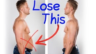 How to Lose ALL Your Stubborn Belly Fat (3 Steps) - See Fat Loss Results in Just 1 Week ❗❗❗ For MEN