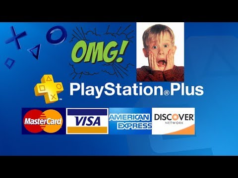HOW TO GET PSN PLUS WITH A CREDIT CARD