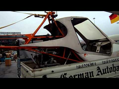 Helicopter powered with a VW aircoold motor + vw gearbox