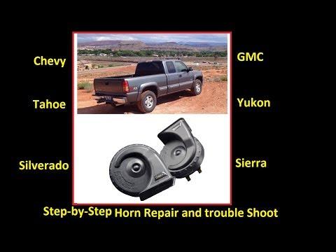 Fix your horn the Easy way! Chevy/GMC Silverado, Sierra, Suburban, Yukon