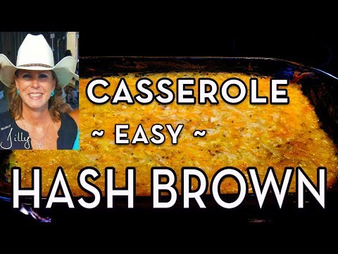 Potato Casserole with Sour Cream ~ Hash Brown Casserole