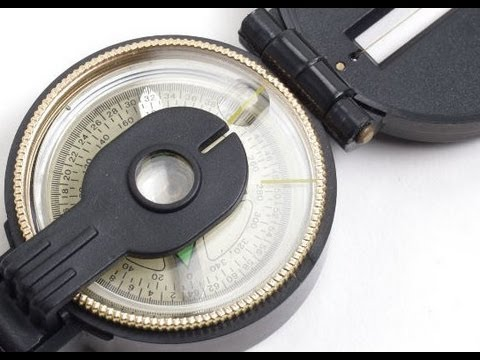How to make a simple compass? The floating compass, magnetic bearing.