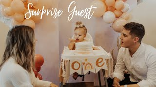 Layla's 1st birthday Party | Surprise guest!
