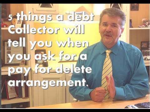 5 things a debt collector will tell you when you ask for a