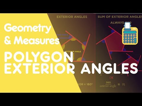 Exterior Angles of Polygons | Geometry | Maths | FuseSchool