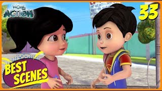 BEST SCENES of VIR THE ROBOT BOY | Animated Series For Kids | #33 | WowKidz Action