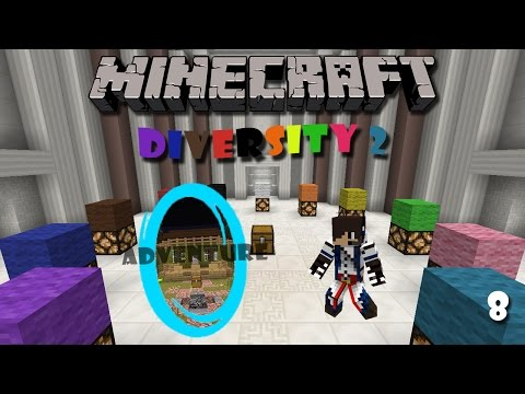 Minecraft Map : Diversity 2 (Part 8) - Adventure Branch (1)