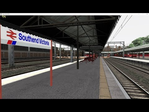 TRAIN SIMULATOR 2018 LTS 1990 CAB RIDE SOUTHEND VICTORIA TO SHENFIELD