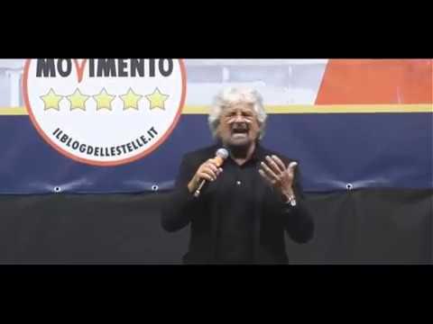 Memorabile discorso di Beppe Grillo alla Festa del 02 giugno a Roma