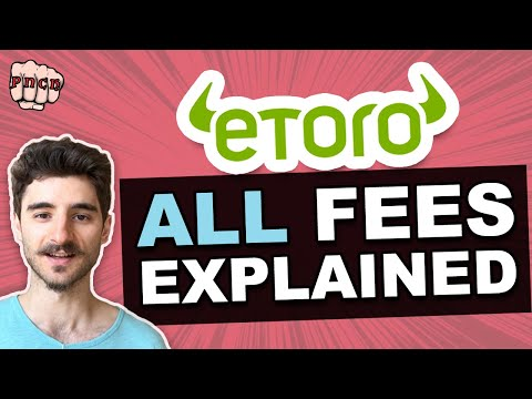 Etoro fees explained - Guide to all fees + example