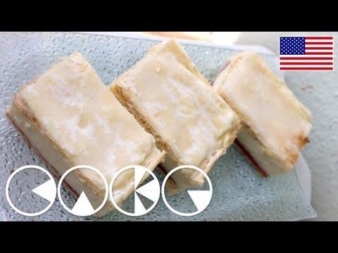 VANILLA SLICES (with Custard) plus Recipe