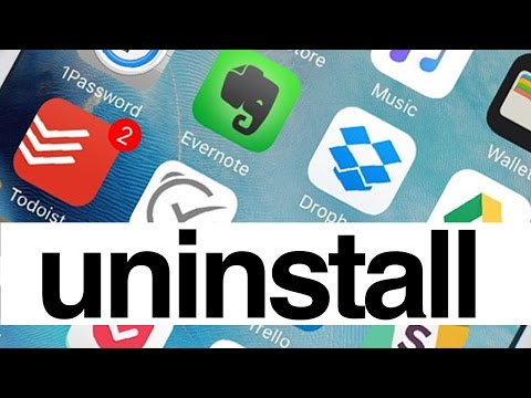 How to Uninstall Apps in iPhone iPad iPod touch - iPhone 6S iPad Pro iPad mini iPod Latest Gen