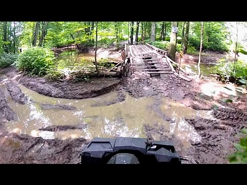Must love mud! Trail ride continued Part 2 of 2