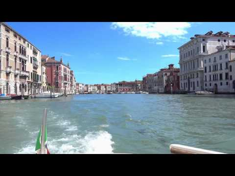 Venice Water Taxi Ride (Marco Polo Airport to Santa Lucia)