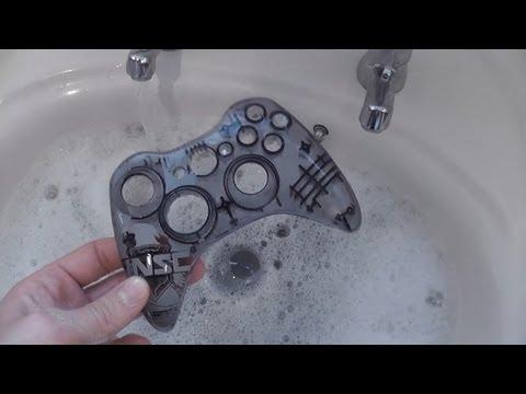 Let's Repair - Ebay Junk - Halo 4 LE Xbox 360 Controller - Broken Bumper - Rage Quit Damage