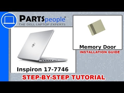 Dell Inspiron 17-7746 (P24E002) Memory Door How-To Video Tutorial