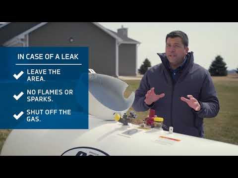 What to do if you suspect a propane gas leak. (Smell Gas)