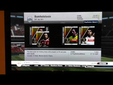 FIFA 12 Ultimate Team TOTY Pack Opening PS3 #2