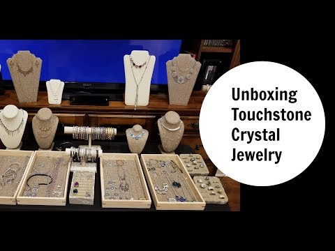 UNBOXING TOUCHSTONE CRYSTAL JEWELRY