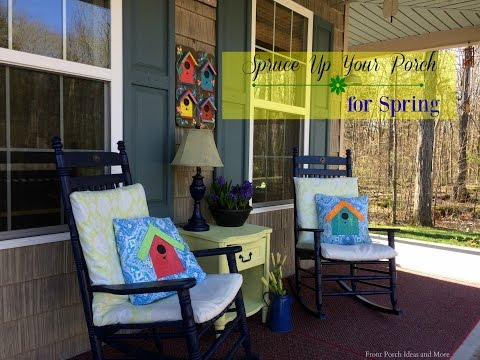 Spruce Up Your Front Porch for Spring!