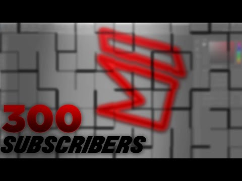 FREE Gangster Style YouTube Banner & Logo Template! - 300 SUBSCRIBER SPECIAL