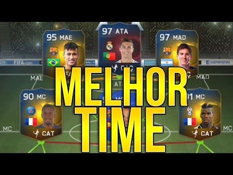 MEU MELHOR TIME NO FIFA 15 Ultimate Team