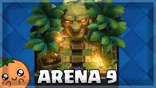 Best Arena 9 Decks (F2P to 5k 🏆)🍊